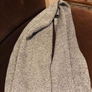 Michael Kors silver and gray scarf